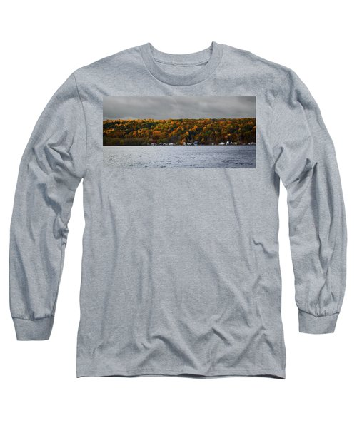 Conesus Lake Autumn Long Sleeve T-Shirt