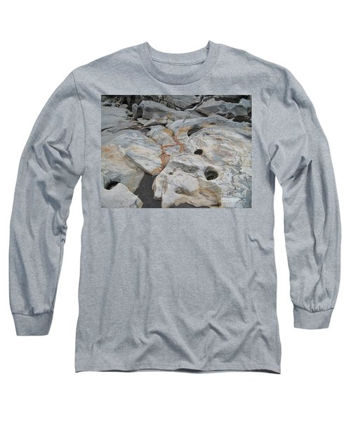 Connecticut River Bed Long Sleeve T-Shirt