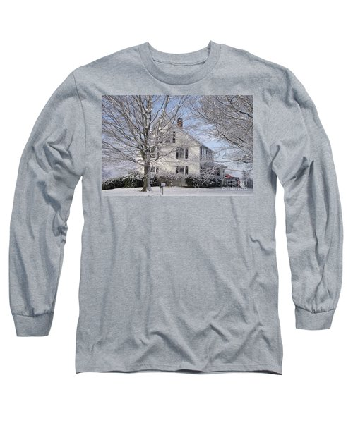 Connecticut Winter Long Sleeve T-Shirt