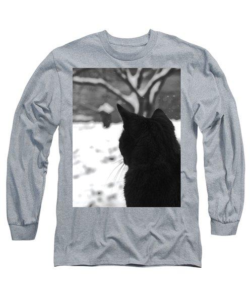 Contemplating Winter Long Sleeve T-Shirt