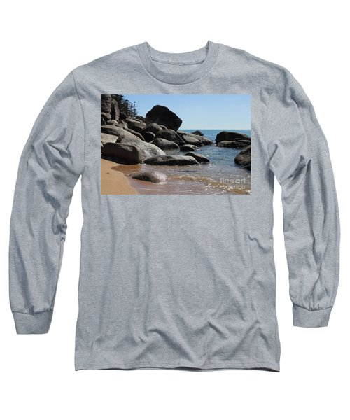Contrast Long Sleeve T-Shirt