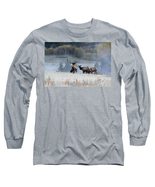 Cool Misty Morning Long Sleeve T-Shirt
