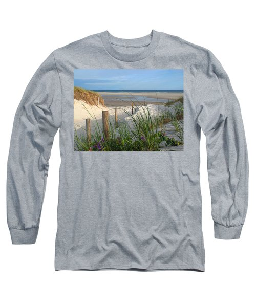 Long Sleeve T-Shirt featuring the photograph Cool Of Morning by Dianne Cowen