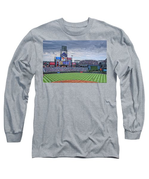 Coors Field Long Sleeve T-Shirt by Ron White
