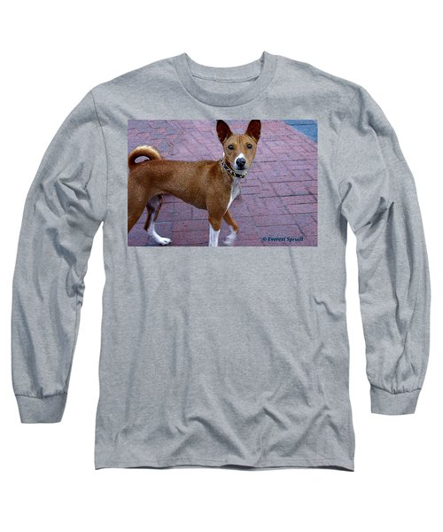 Basenji Long Sleeve T-Shirt