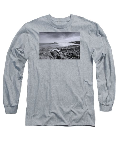 Cornwall Coastline 2 Long Sleeve T-Shirt by Doug Wilton