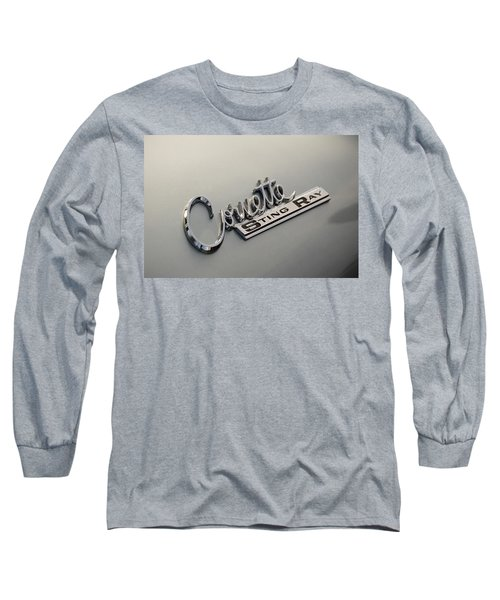 Corvette Sting Ray Long Sleeve T-Shirt
