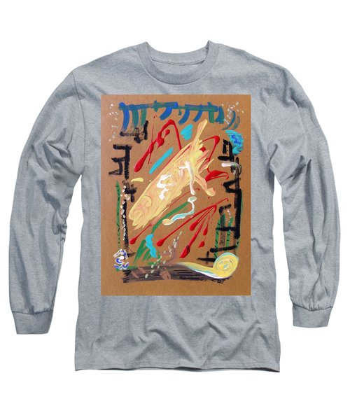 Long Sleeve T-Shirt featuring the painting Cosmopolitan by Mary Carol Williams