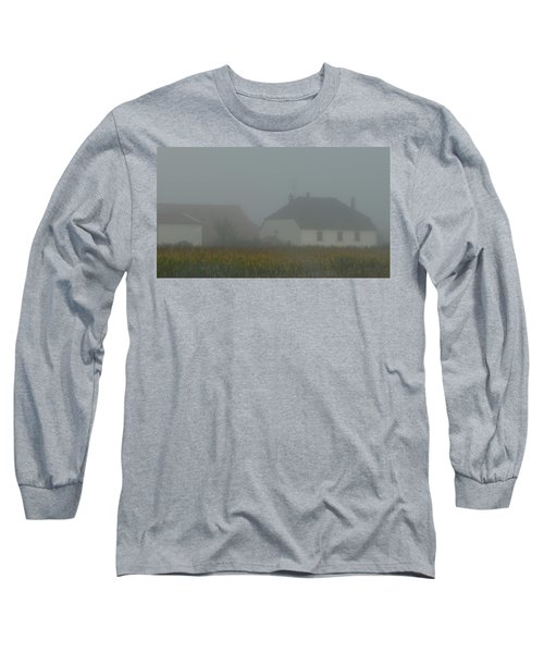 Cottage In Mist Long Sleeve T-Shirt