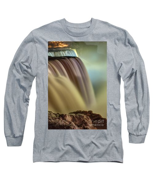 Cotton Candy Falls Long Sleeve T-Shirt