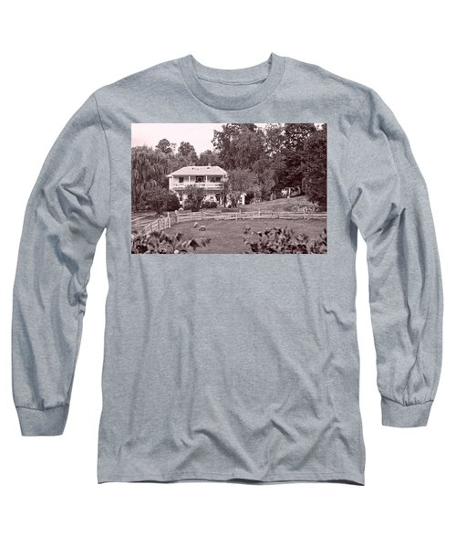 Long Sleeve T-Shirt featuring the photograph Country Life by Denise Romano