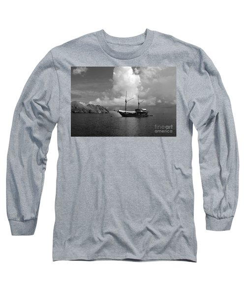 Long Sleeve T-Shirt featuring the photograph Cove  by Sergey Lukashin