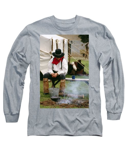 Cowboy Re-enactor Long Sleeve T-Shirt