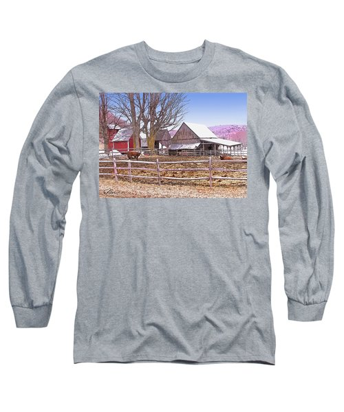 Cows At Jenne Farm Long Sleeve T-Shirt