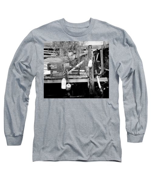 Crab Fishermans Still Life Long Sleeve T-Shirt