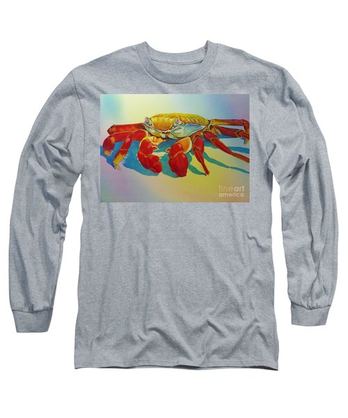 Colorful Crab  Long Sleeve T-Shirt