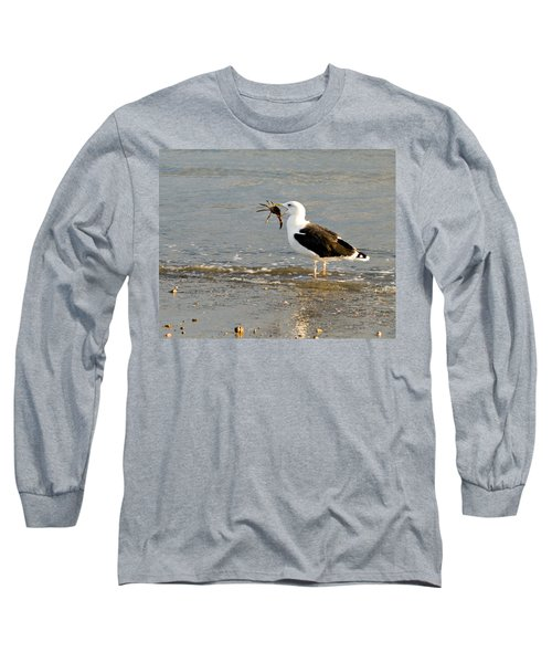 Crab For Dinner Long Sleeve T-Shirt