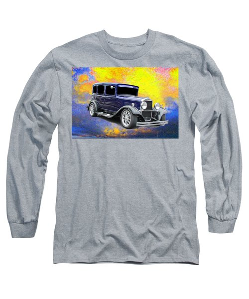 Vintage Long Sleeve T-Shirt featuring the photograph Crank It  by Aaron Berg
