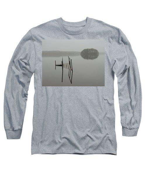 Crannog At Lake Knockalough Long Sleeve T-Shirt