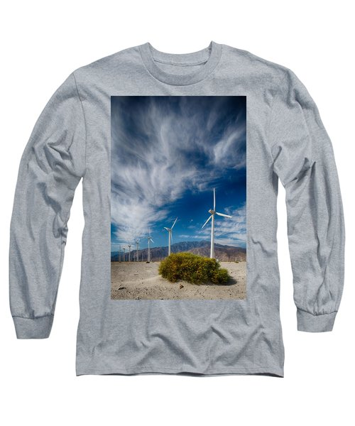 Creosote And Wind Turbines Long Sleeve T-Shirt