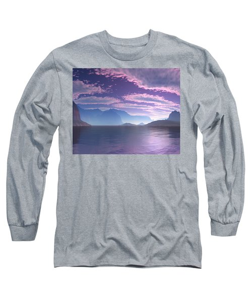 Crescent Bay Alien Landscape Long Sleeve T-Shirt