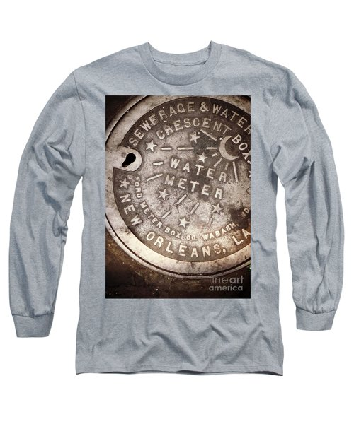 Crescent City Water Meter Long Sleeve T-Shirt