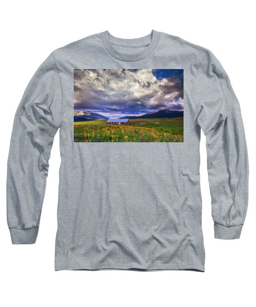 Crested Butte Morning Storm Long Sleeve T-Shirt