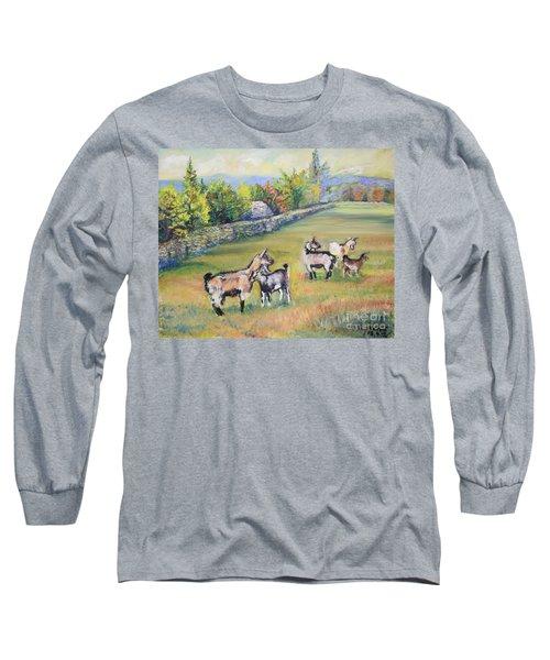Croatian Goats Long Sleeve T-Shirt