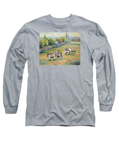 Croatian Goats Long Sleeve T-Shirt