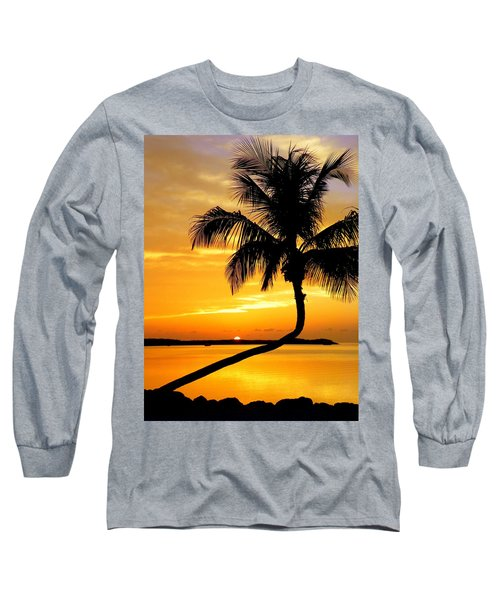 Crooked Palm Long Sleeve T-Shirt by Karen Wiles