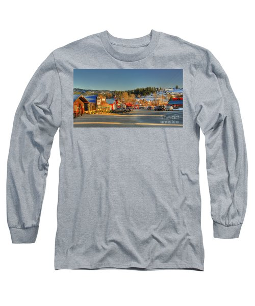 Long Sleeve T-Shirt featuring the photograph Crouch Main St by Sam Rosen