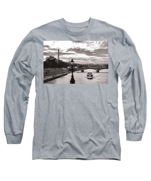 Cruise On The Seine Long Sleeve T-Shirt