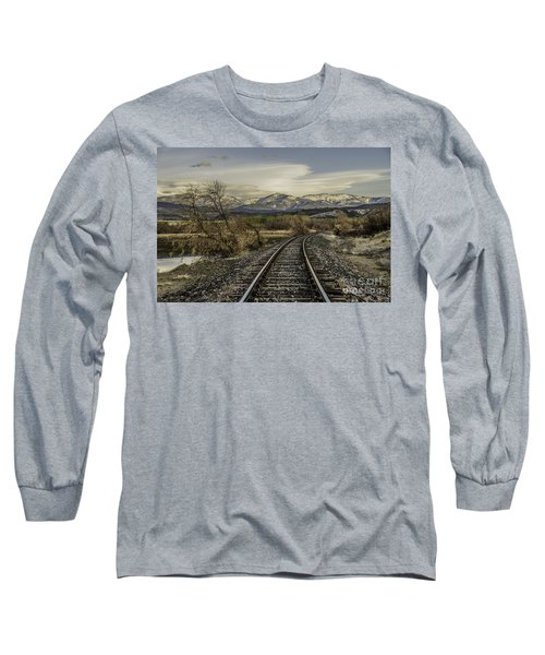 Curve In The Tracks Long Sleeve T-Shirt