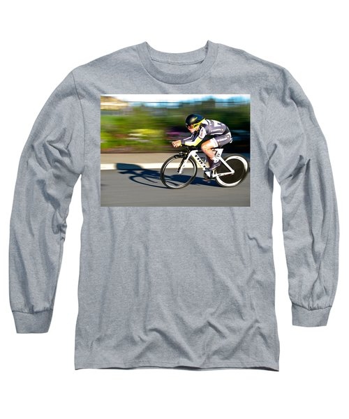 Cycling Prologue Long Sleeve T-Shirt by Kevin Desrosiers