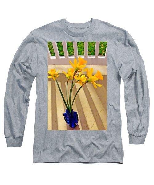 Daffodil Boquet Long Sleeve T-Shirt