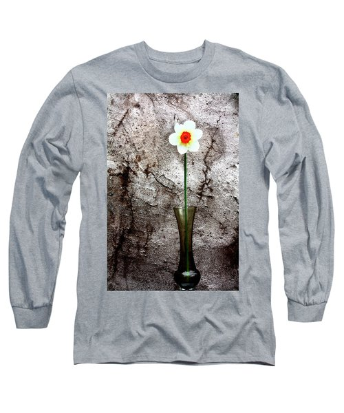 Daffodil Long Sleeve T-Shirt by Gray  Artus