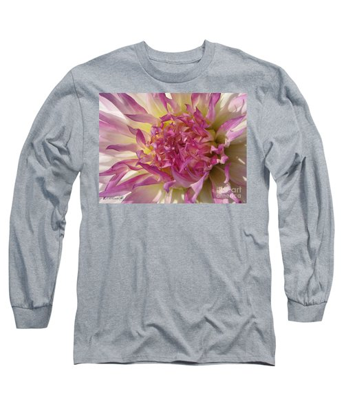 Dahlia Named Angela Dodi Long Sleeve T-Shirt by J McCombie