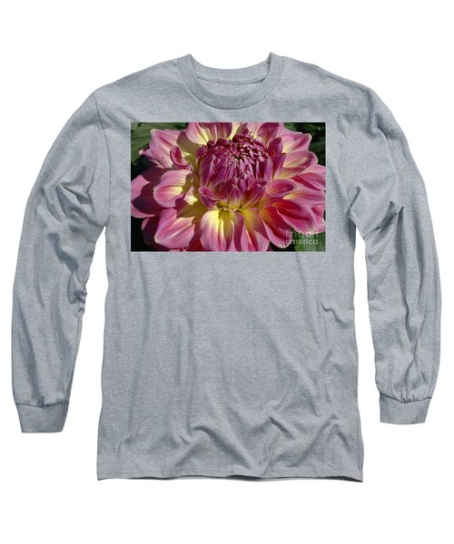 Long Sleeve T-Shirt featuring the photograph Dahlia Vii by Christiane Hellner-OBrien