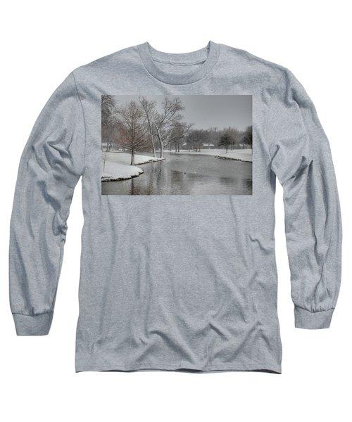 Dallas Snow Day Long Sleeve T-Shirt