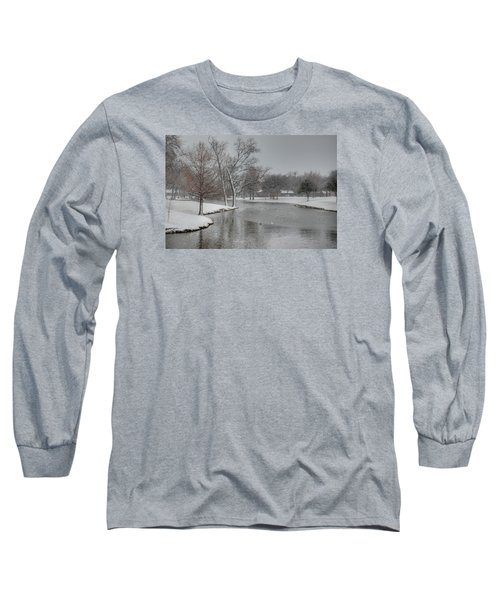 Dallas Snow Day Long Sleeve T-Shirt