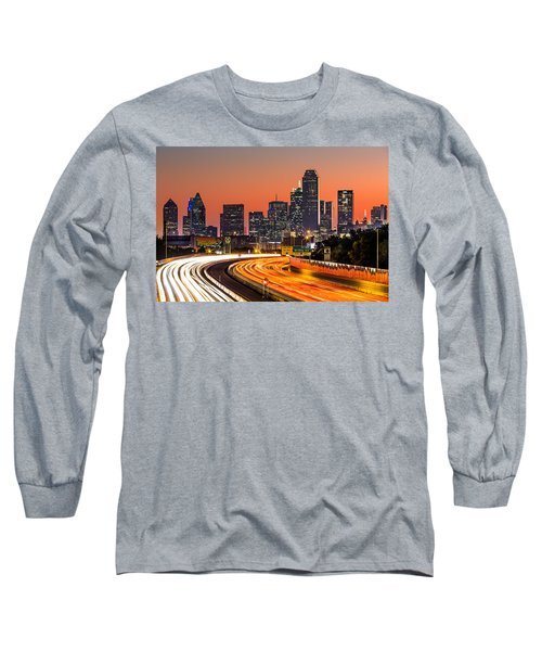 Dallas Sunrise Long Sleeve T-Shirt