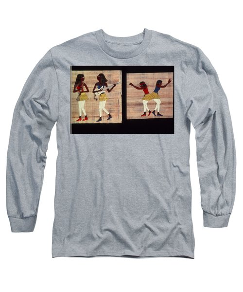 Dance And Flute Long Sleeve T-Shirt