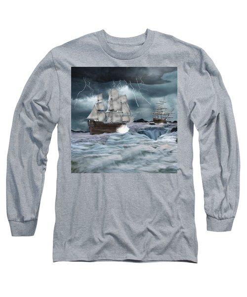 Danger Ahead Long Sleeve T-Shirt