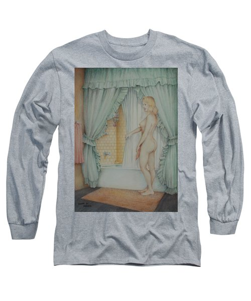 Date Night Long Sleeve T-Shirt by Duane R Probus
