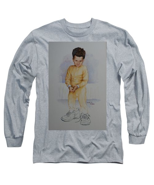 David Long Sleeve T-Shirt by Duane R Probus