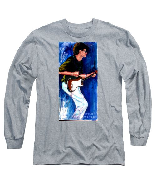 David On Guitar Long Sleeve T-Shirt