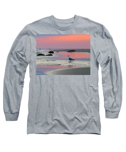 Long Sleeve T-Shirt featuring the photograph Dawn In Pink by Dianne Cowen