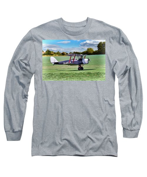De Havilland Tiger Moth 2 Long Sleeve T-Shirt