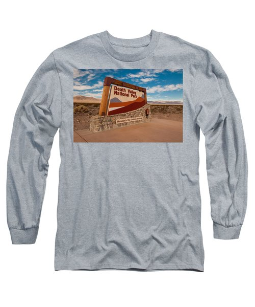 Death Valley Entry Long Sleeve T-Shirt