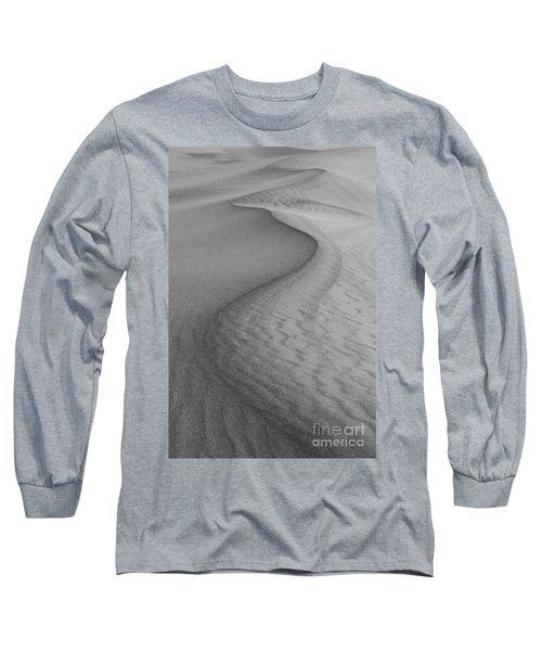 Death Valley Sand Dunes Long Sleeve T-Shirt by Juli Scalzi
